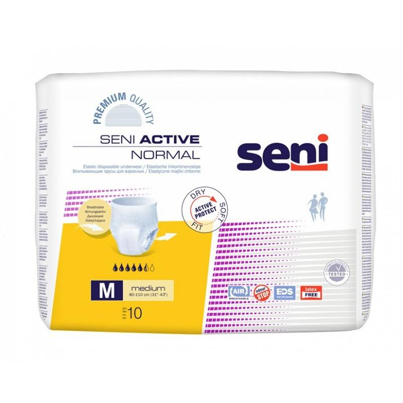 Majtki chłonne Seni Active Normal zakładane jak bielizna