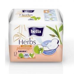 Podpaski higieniczne Bella Herbs Sensitive z babką lancetowatą