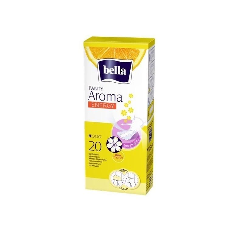 Wkładki higieniczne Bella Panty Aroma Energy