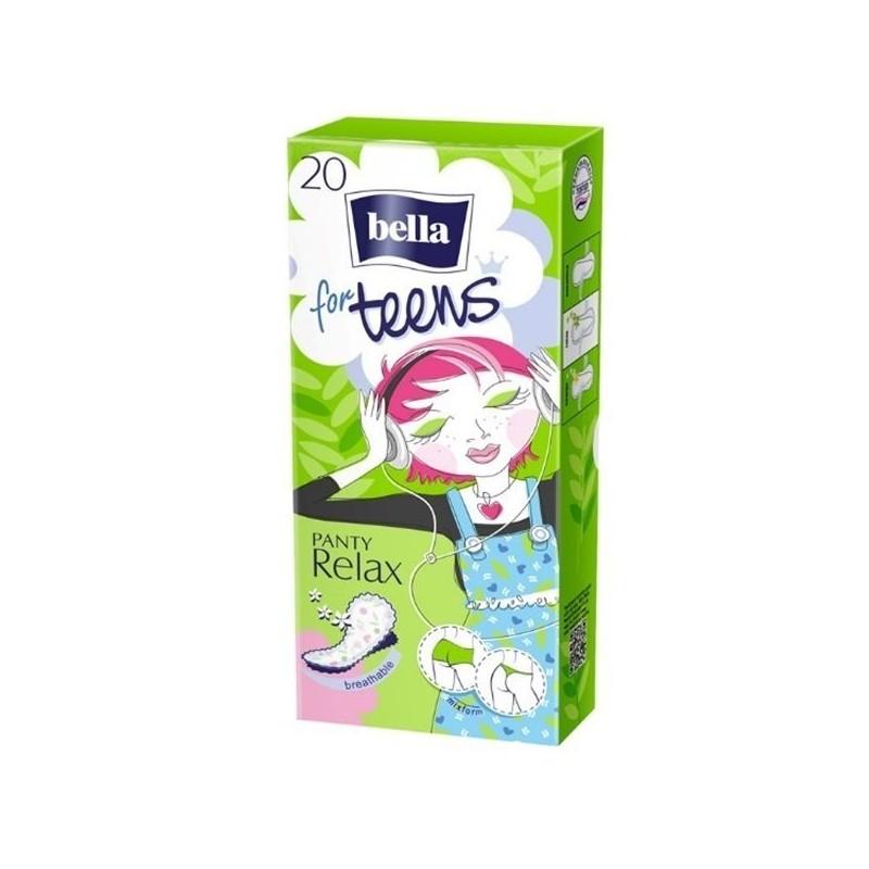 Wkładki higieniczne Bella For Teens Relax 20 szt.