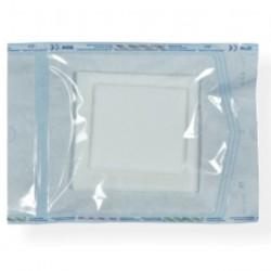 Pakiet kompresów z włókniny, jałowych z luźną nitką 5 cm x 5 cm
