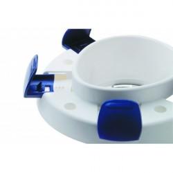 Nasadka sedesowa podwyższająca toaletę z pokrywą Clipper V