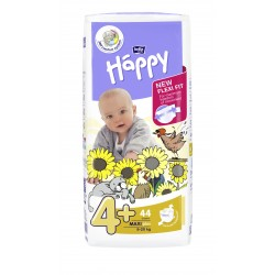 Pieluszki Bella Baby Happy New Flexi Fit Maxi Plus (4+) 9-20 kg