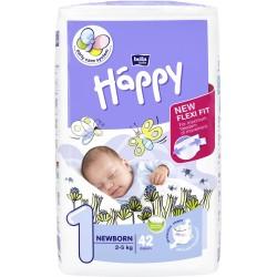 Pieluszki Bella Baby Happy New Flexi Fit Newborn (1) 2-5 kg
