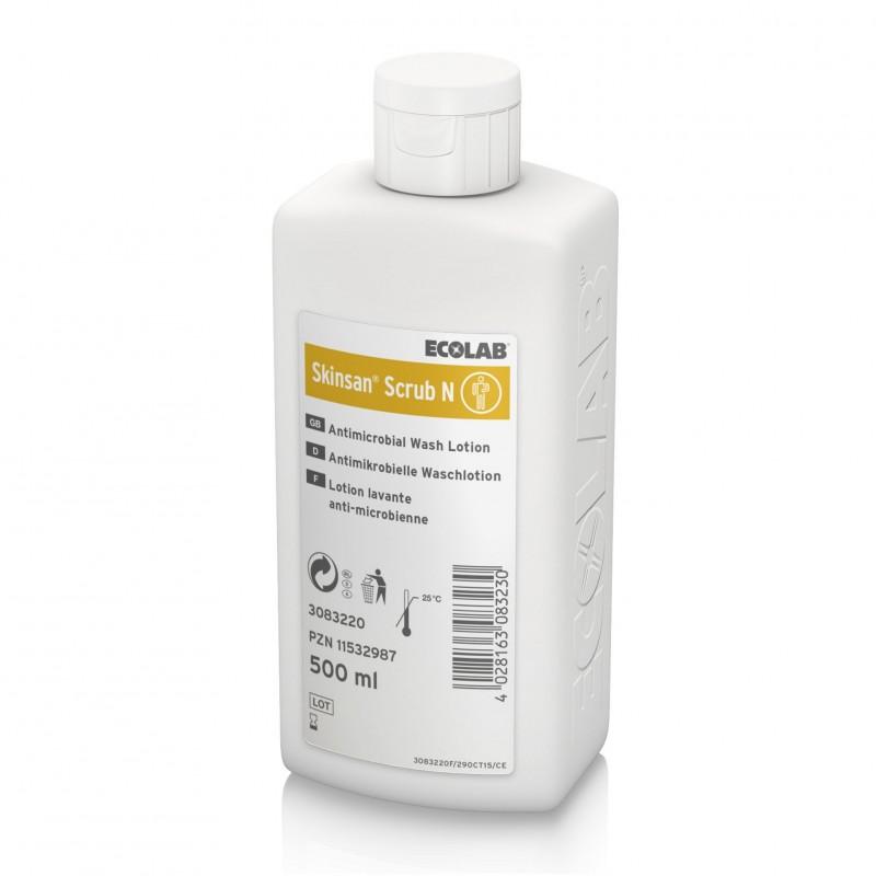 Skinsan Scrub N płyn do mycia i dezynfekcji ciała Ecolab 500 ml