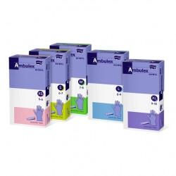 Rękawiczki jednorazowe nitrylowe Ambulex Nitryl fioletowe, niesterylne 100szt.
