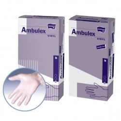 Rękawiczki winylowe Ambulex Vinyl, niesterylne 100szt.