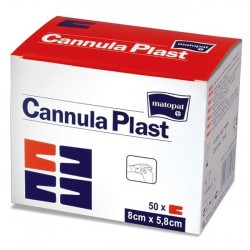 Opatrunek samoprzylepny do kaniul, włókninowy Cannula Plast
