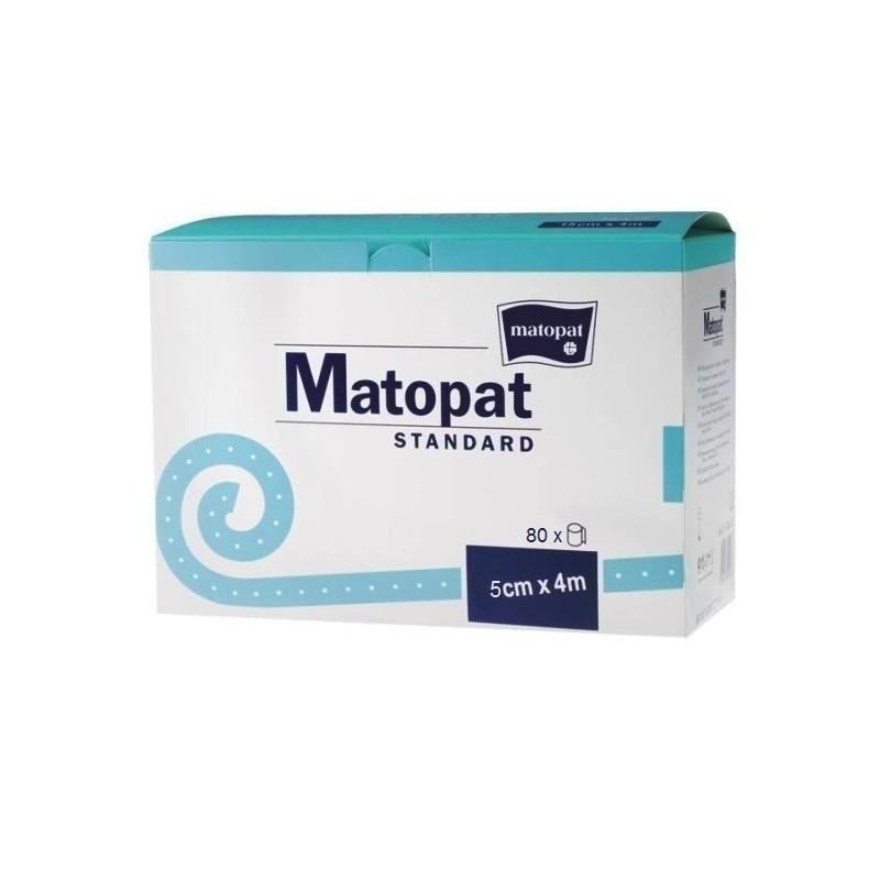 Bandaż nieelastyczny, podtrzymujący, jednorazowy Matopat Standard