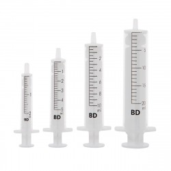 Strzykawki jednorazowego użytku BD Discardit II