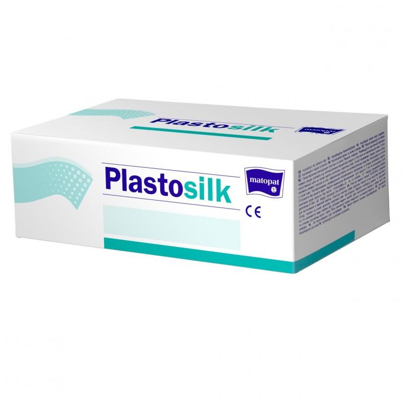 Przylepiec specjalistyczny, na jedwabiu, hipoalergiczny Plastosilk