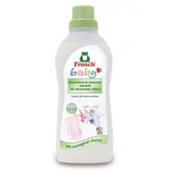 Koncentrat do płukania ubranek dziecięcych Frosch Baby 750 ml