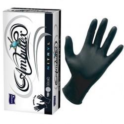 Rękawiczki nitrylowe Ambulex Nitryl czarne, niesterylne 100szt.