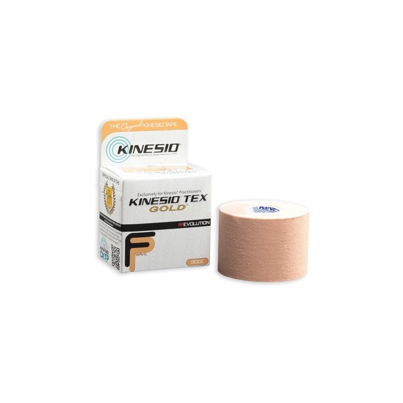Taśma do kinesiotapingu Kinesio Tex Gold FP 5cm x 5m