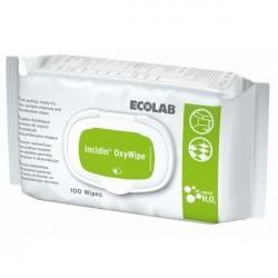 Incidin OxyWipe chusteczki bezalkoholowe do dezynfekcji Ecolab
