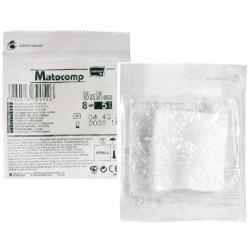 Kompresy z gazy Matocomp jałowe, 13-nitkowe (blister)