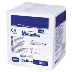 Kompresy z włókniny Matovlies niejałowe z nitką RTG 100szt.