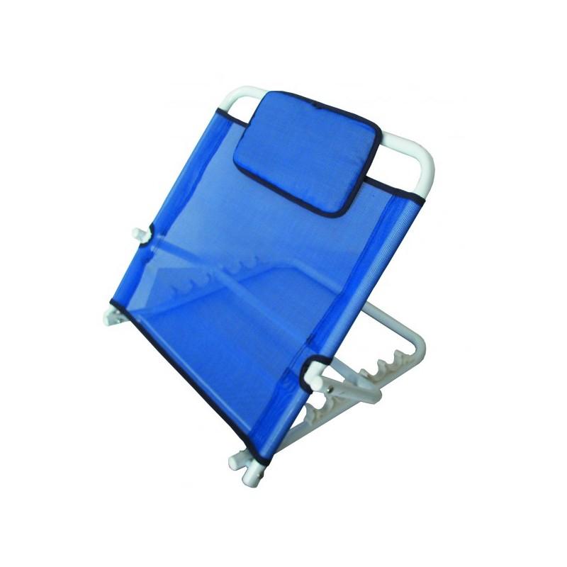 Podpórka pod plecy z poduszką, niebieska
