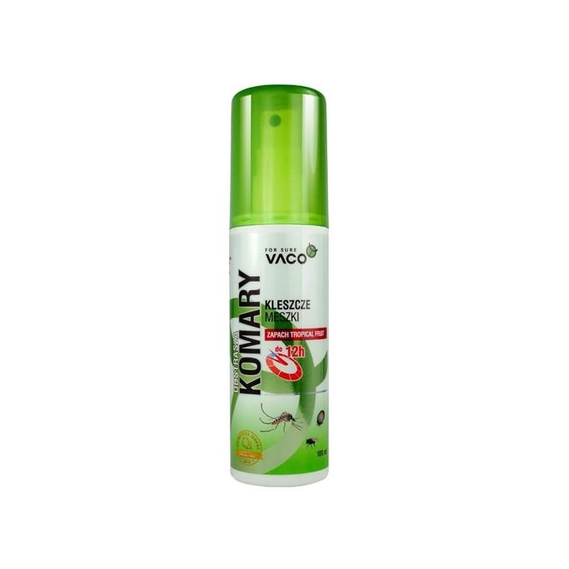 Płyn odstraszający komary kleszcze i meszki Tropical Fruit Vaco 100 ml