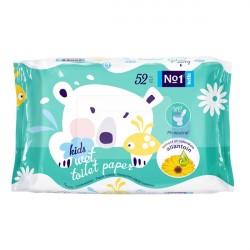Papier toaletowy nasączony Bella No1 Kids 52 szt.
