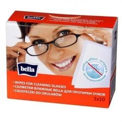 Chusteczki nasączone do czyszczenia okularów Bella
