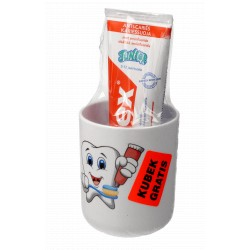 Pasta do zębów 75 ml dla dzieci 5-12 lat + kubek gratis Elmex Junior