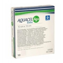 Opatrunek antybakteryjny ze srebrem Aquacel Ag+ Extra niszczący biofilm 1 szt.