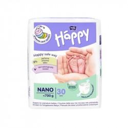 Pieluszki dla wcześniaków Bella Baby Happy Nano do 700g