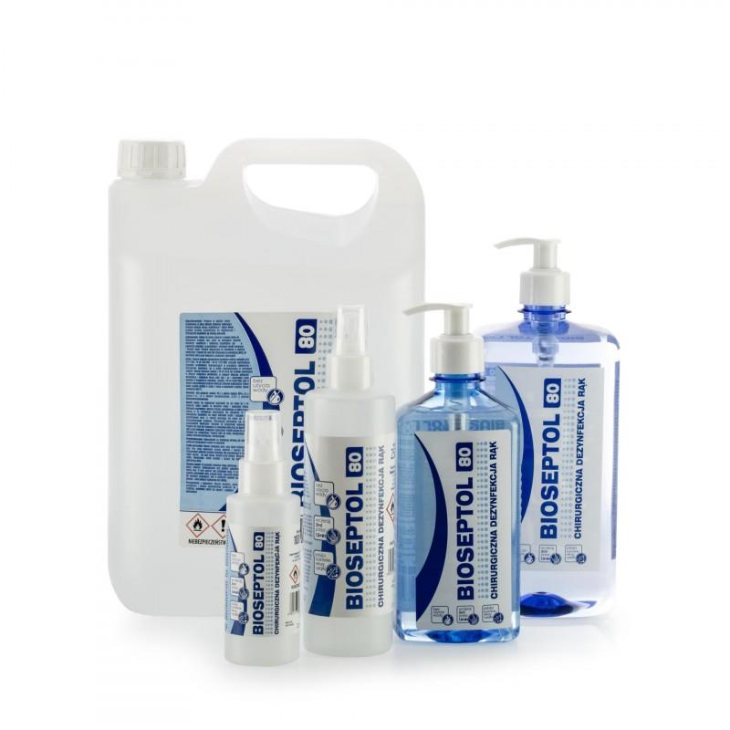 Bioetanol Bioseptol 80 płyn do dezynfekcji rąk