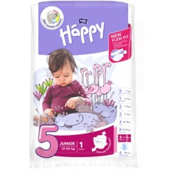Pieluszki Bella Baby Happy New Flexi Fit Junior (5) 12-25 kg