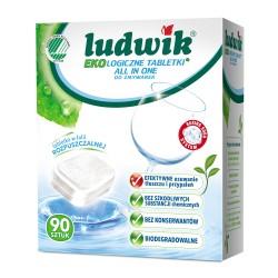 Tabletki do zmywarek All in One Ludwik ekologiczne 90 szt.
