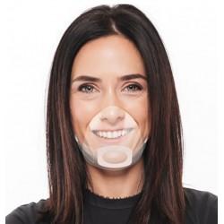Osłonka na usta i nos Mouth Shield, transparentna