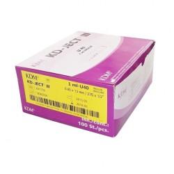 Strzykawka insulinowa z igłą KD Medical