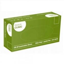 Rękawice jednorazowe winylowe bezpudrowe Protects Clinic Vinyl Semper100 szt.
