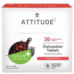 Tabletki do zmywarki biodegradowalne Attitude 26 szt.
