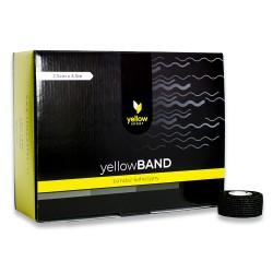 Bandaż elastyczny samoprzylepny YellowBAND czarny 36 szt.