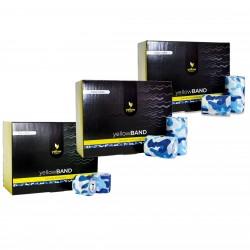 Bandaż samoprzylepny YellowBAND niebieski moro 12 szt.