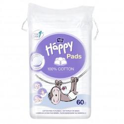 Bawełniane płatki kosmetyczne Bella Baby Happy Cotton Pads 60 szt.