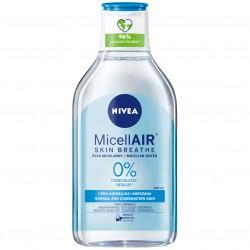 Płyn micelarny MicellAir Skin Breathe skóra normalna i mieszana Nivea 400 ml