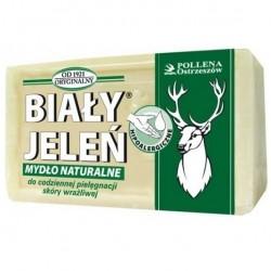 Mydło w kostce hipoalergiczne, naturalne Biały Jeleń 150 g