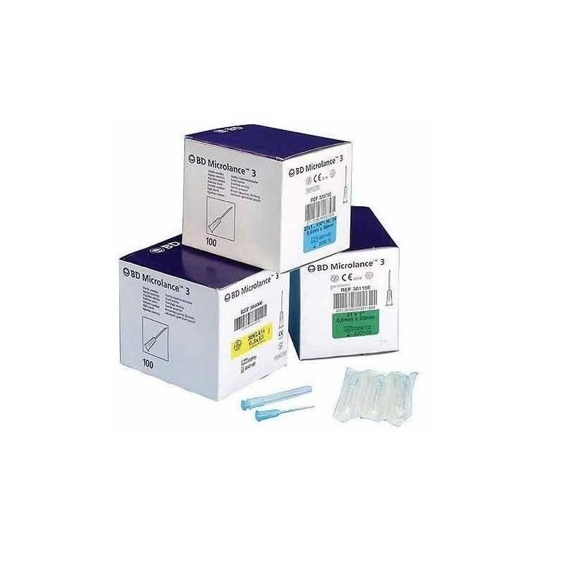 Igły iniekcyjne jednorazowego użytku BD Microlance 100 szt.