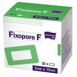 Opatrunek samoprzylepny z wkładem chłonnym, foliowy Fixopore F