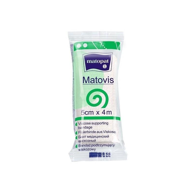 Bandaż nieelastyczny, podtrzymujący, jednorazowy Matovis (wiskozowy)
